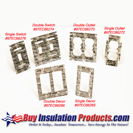 Metacaulk Electrical Outlet Cover Guards Buy Insulation Products