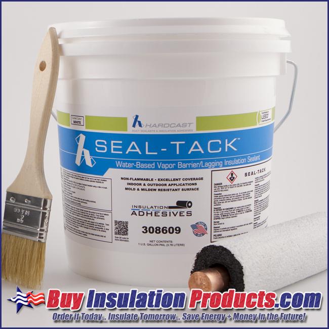 HARDCAST SEAL-TACK VAPOR BARRIER MASTIC - Buy Insulation