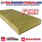 "3"" Thick 8# Mineral Wool Acoustical Board"