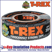 T-Rex Ferociously Strong Black Duct Tape