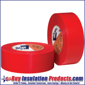 Red Stucco / Abatement Polyethylene Tape