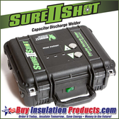 Sure Shot II Capacitor Discharge Weld Machine and Gun