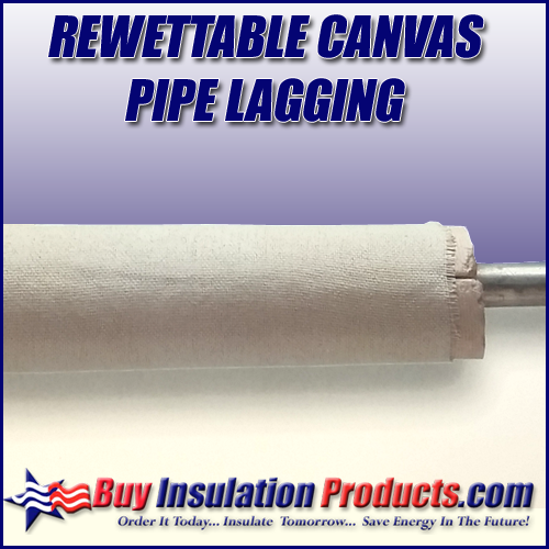 Rewettable Pipe Lagging Insulation | Asbestos Pipe Wrap