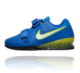 Nike Romaleos 2 Weightlifting Shoes - Hyper Cobalt / Electric Yellow-Black