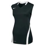 Nike Women's Volleyball Ace Tank - Black/White