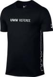 Nike Men's UWW Dry Elite T-Shirt - Black / Black / White