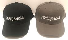 DEPLORABLE - PRESIDENT DONALD TRUMP Ball Cap / Hat