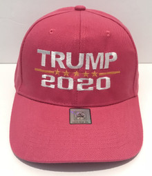 TRUMP 2020 ELECTION - DONALD TRUMP - KEEP AMERICA GREAT! - PINK Ball Cap / Hat