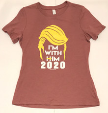 """I'm With Him 2020"" - President  Donald Trump 2020 Election - Quality Women's T-Shirt"