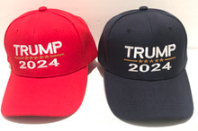 TRUMP 2024 - PRESIDENT DONALD TRUMP - Quality Ball Cap / Hat