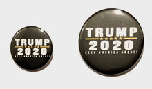 Trump 2020 Keep America Great - President Donald Trump Political Button / Pin