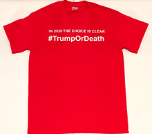 #TrumpOrDeath - The Josh Bernstein Show - Gildan Men's Red T-shirt