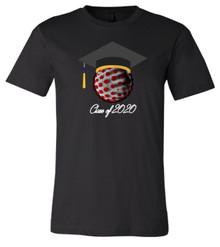 Class Of 2020 - Bella+Canvas Men's Black T-shirt