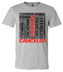 CANCELLED - Bella+Canvas Men's Heather Gray T-shirt