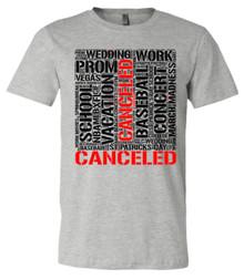 CANCELLED - Bella+Canvas Men's Heather Gray T-shirt