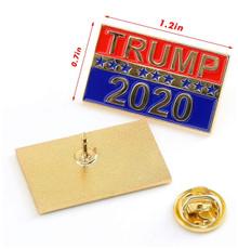 Trump 2020 Lapel Pin - Keep America Great - President Donald Trump