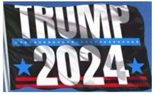 President Donald Trump - 2024 - 3 x 5 Foot Flag With Grommets