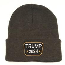 TRUMP 2024 - PRESIDENT DONALD TRUMP - DON JR. - Quality Adult Unisex Patch Beanie Skull Cap
