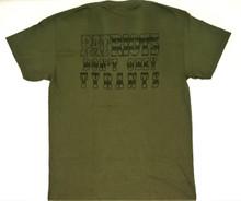Patriots Don't Obey Tyrants (Anti-Tyrant) - Men's Military Green T-shirt