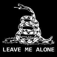 Gadsden - Leave Me Alone - Dont Tread On Me Revised - 4 x 6 Inch Political Bumper Sticker