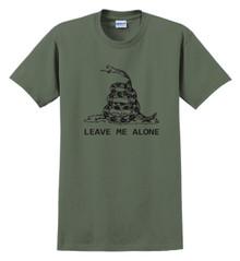 Gadsden - Leave Me Alone - Dont Tread On Me Revised - Men's Quality T-Shirt