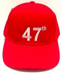 47th TRUMP 2024 - PRESIDENT DONALD TRUMP - 2024 ELECTION - Quality Ball Cap / Hat