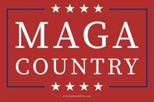 MAGA Country - 4 x 6  Inch Political Bumper Sticker