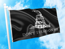 Gadsden - Dont Tread On Me - 3 x 5 Foot Flag With Grommets