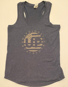 UP Unapologetic Patriot - Women's Quality Racerback Tank Top