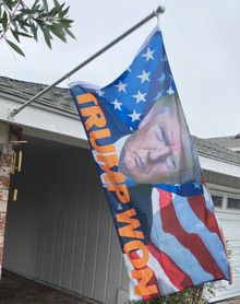 Trump WON - Trump 2024 - 3 x 5 Foot Flag With Grommets