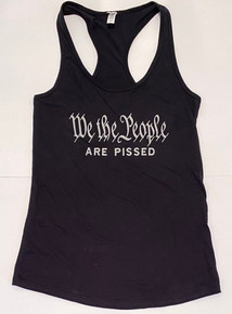 WE THE PEOPLE Are Pissed - Women's Racerback Tank Top