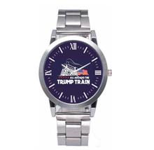 All Aboard The Trump Train - Quartz Analog Wristwatch Watch