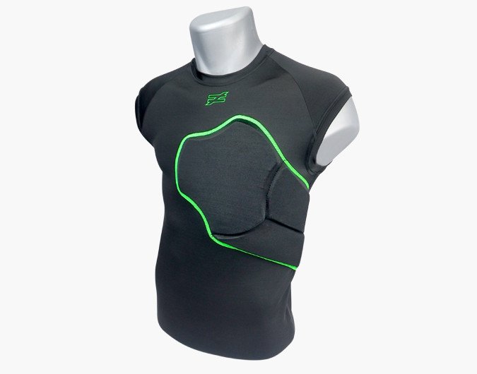f2d2d032 HART- Heart Guard Armored Chest Protector Shirts
