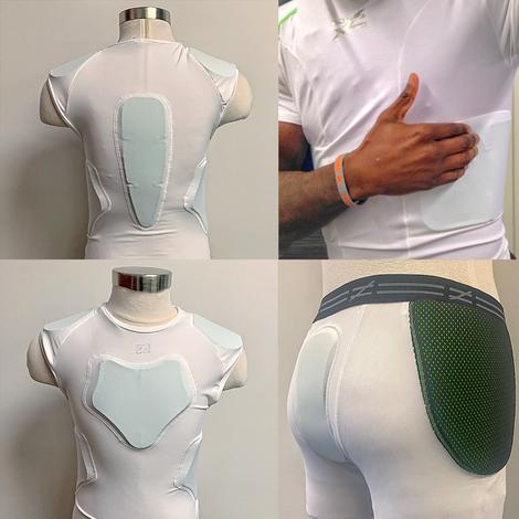 Protective Custom Customized Sports Gear Armor