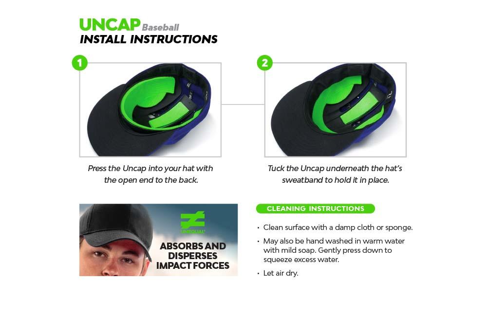 pro-athlete-baseball-helmet-liner-concussion-prevention-uncap-baseball-instructions