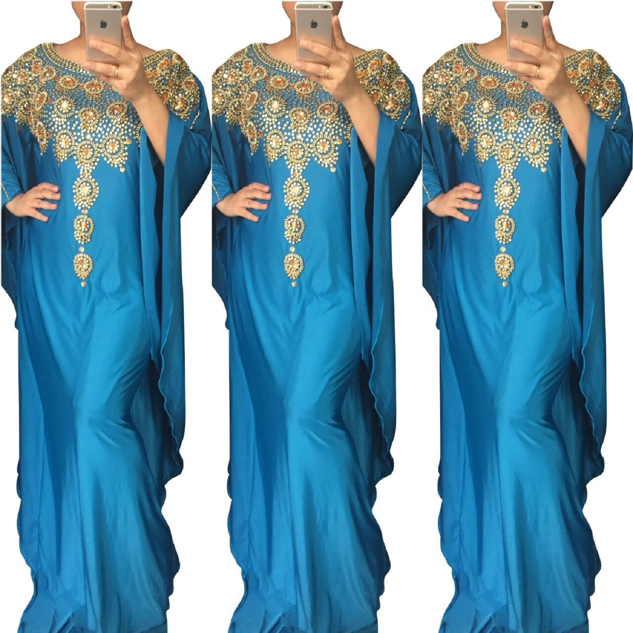 Kaftan Maxi Dress Evening Gowns Evening Dresses Wedding Dress Cocktail Plus Size 5507