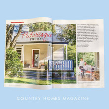 PRESS: COUNTRY HOMES MAGAZINE