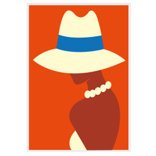 SUNHATS & PEARLS ORANGE