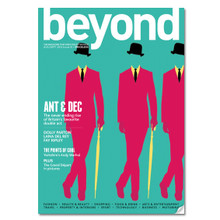 PRESS: BEYOND MAGAZINE FRONT COVER