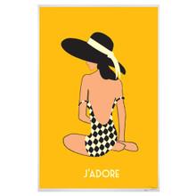 J'ADORE- SITTING ON THE BEACH