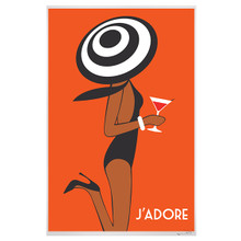 J'ADORE- MARTINI BY THE POOL