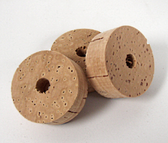 "Super grade cork rings also known as Flor grade. Super Fine Cork Ring - 1/2""L"