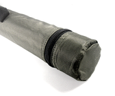 "A very affordable replacement rod case for 4pc fly rods. 2"" Diameter Cordura Covered Rod Case"