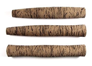 Custom Swirl burl cork grip.