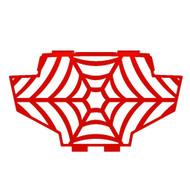 2011-2014 Polaris RZR 900  - Powdercoat Spiderweb Radiator Grill Guard Cover