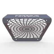 14-16 Polaris RZR 1000 - Spiderweb Muffler Cover Grille