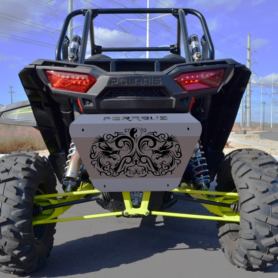 15-16 Polaris RZR 900 Flame Blue Powdercoat Radiator Cover Grille Guard fits