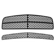 Grille Insert Guard Mesh Punch Black Powdercoat fits: 2006-2009 Dodge Charger