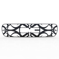 Grille Insert Guard Tribal Black Powdercoat fits: 1999-2002 GMC Sierra