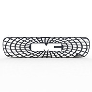 Grille Insert Guard Spiderweb Black Powdercoat fits: 1999-2002 GMC Sierra